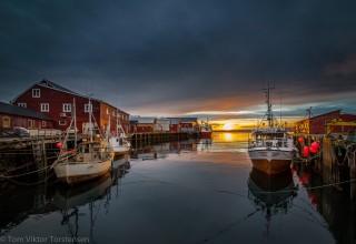 Røssnesvågen, Værøy